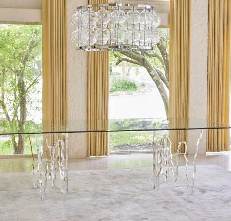 Ice Dining Table w/96