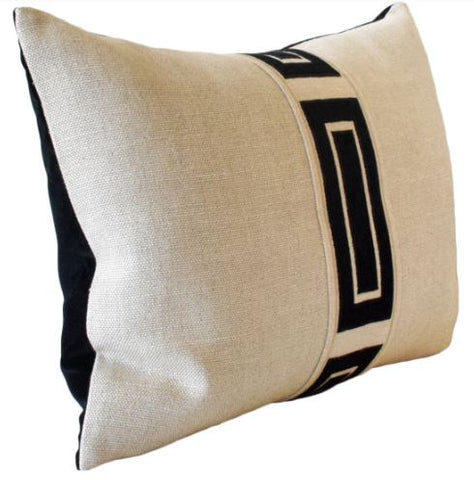 Giorgio Linen Ingot Tape Pillow - Ryan Studio