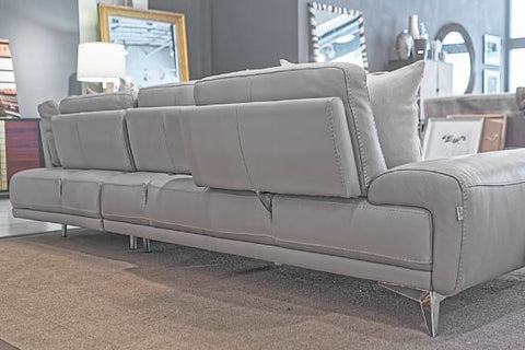 i764 Leather Sectional - Incanto