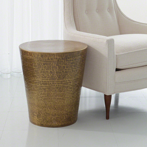Izmir Hammered Side Table - Studio A