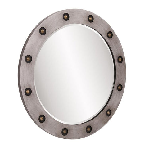 Jax Round Mirror by Howard Elliott