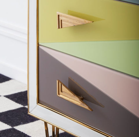 Harlequin Three-Drawer Chest - Jonathan Adler