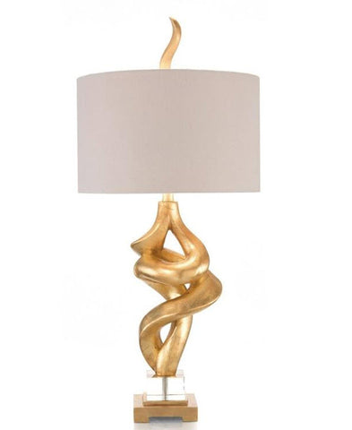 All Twisted Accent Lamp - John-Richard