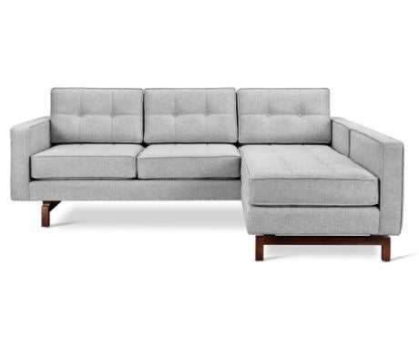 Jane 2 LOFT Bi-Sectional Sofa - Gus Modern