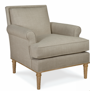 Jansen Sock Arm Chair - Schumacher & Co.