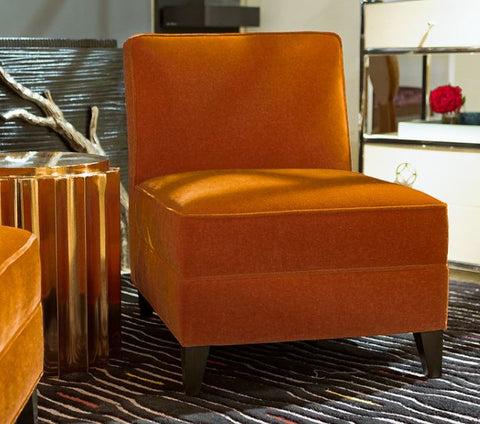 Rossella Armless Chair - James by Jimmy Delaurentis