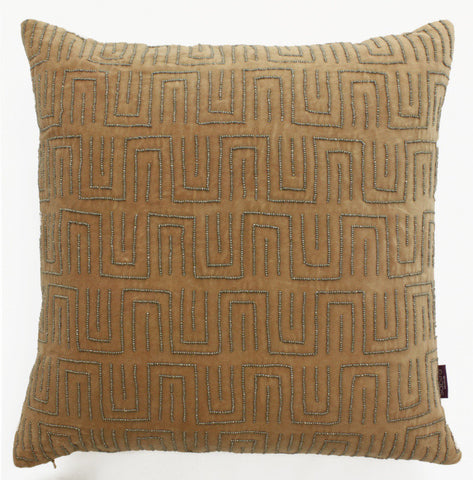 Jolfa Maze Accent Pillow - Sabira Collection