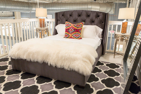 Jordan Tufted Queen Bed - Bernhardt Interiors