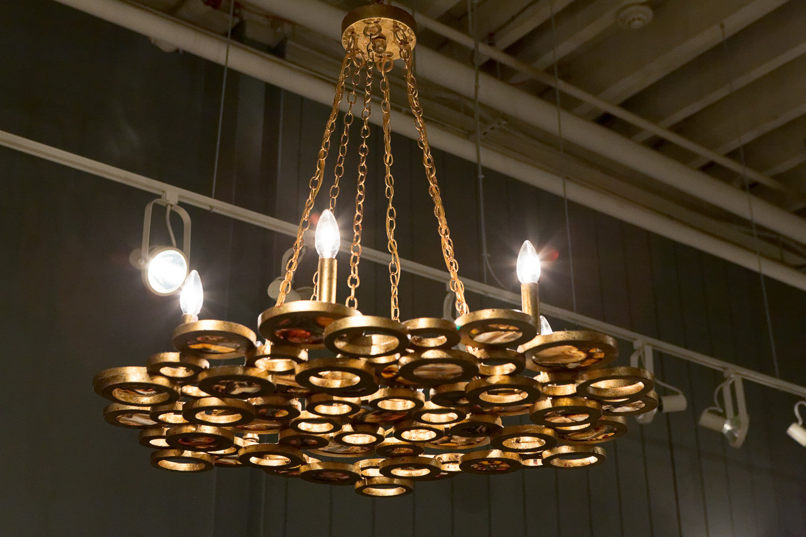 Josephine Round Chandelier Made Goods Luxe Home