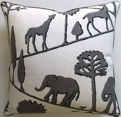 Jungle Walk Pillow 22x22- Ryan Studio