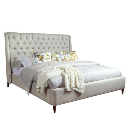 Kara Button Tufted Queen Bed - Belle Meade Signature