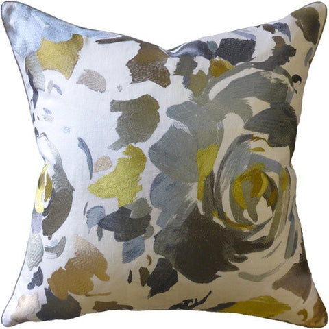 Kalos Grey Pillow 22x22 - Ryan Studio