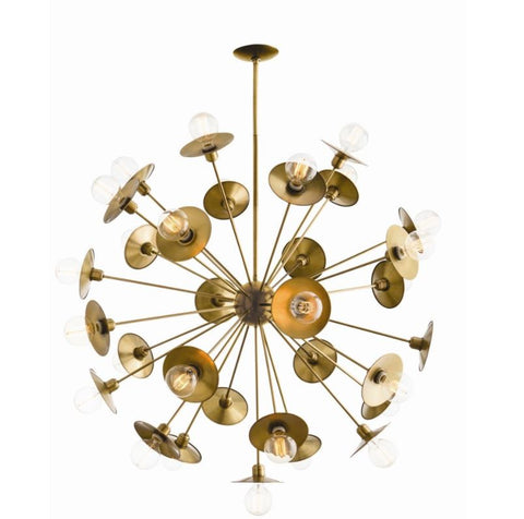 Keegan large chandelier arteriors home