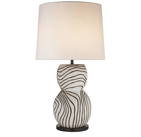 Balla Large Hand-Painted Table Lamp - Visual Comfort