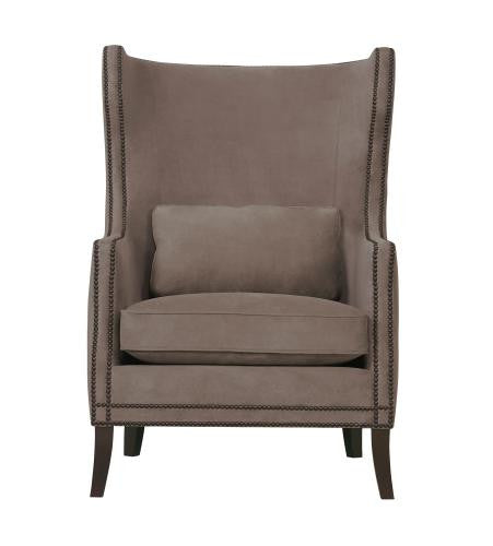 kingston leather wing chair bernhardt furniture