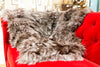 Knit Silver Fox Throw - Adrienne Landau