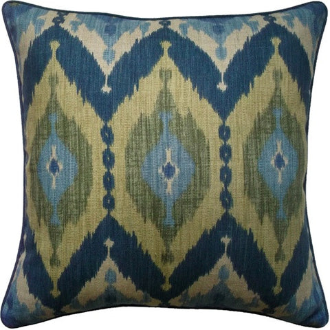 Kublai Blue Pillow 22x22 - Ryan Studio
