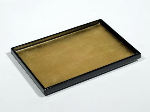 Gold Leaf Inlay Vanity Tray  - Pacific Connections