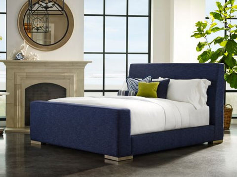 Lange King Sleigh Bed - Lillian August