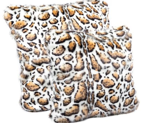Clouded Leopard Limited Edition Pillows - Fabulous Furs
