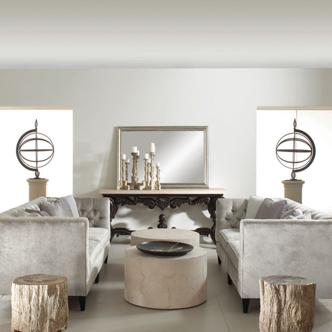 Petrified Wood Side Table - Bernhardt Interiors