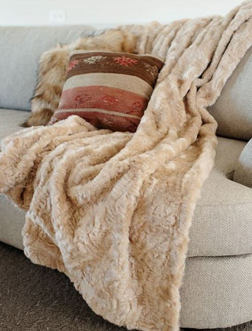 Signature Series Throw: Vintage Persian Lamb - Fabulous Furs