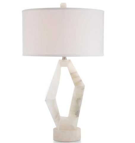 Abstract Alabaster Table Lamp - John-Richard