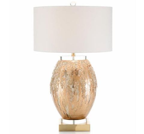 Ethereal Silvered Table Lamp - John-Richard