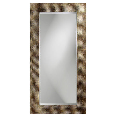 Lancelot Rectangular Mirror - Silver Leaf - Howard Elliott