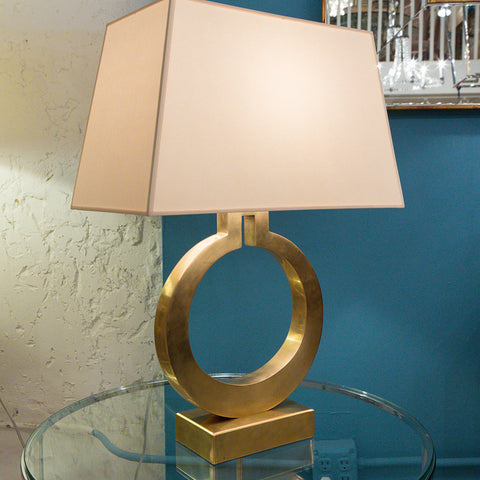 Large Ring Form Table Lamp - Visual Comfort