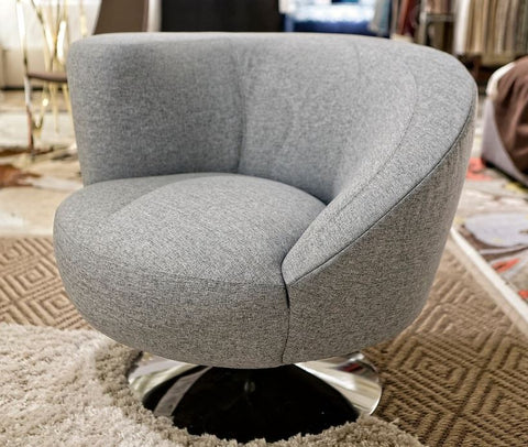 Spiral Swivel Chair - Lazar