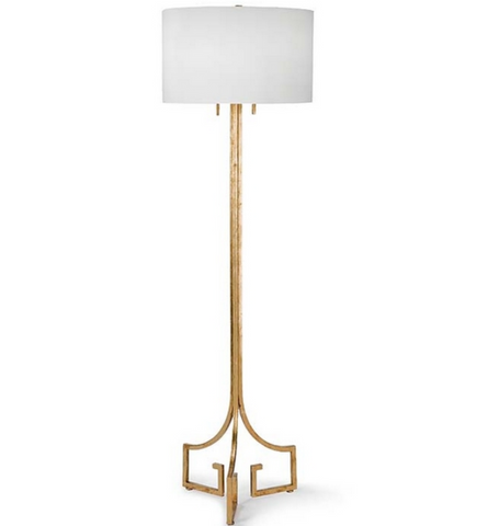 Le Chic Gold Floor Lamp - Regina-Andrew Design