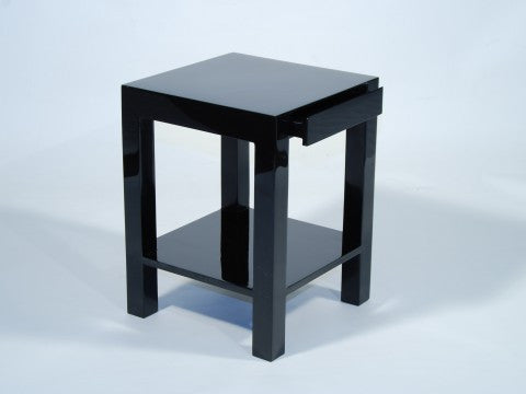 Lipo Side Table, Black - Pacific Connections