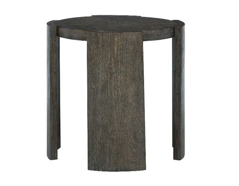 Linea Round Chairside Table - Bernhardt Furniture