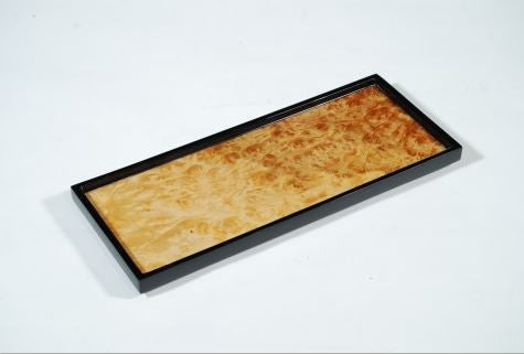 Long Vanity Tray Walnut Burl - Pacific Connections