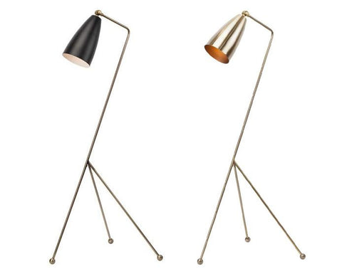 Lucille Black Floor Lamp - Nuevo Living