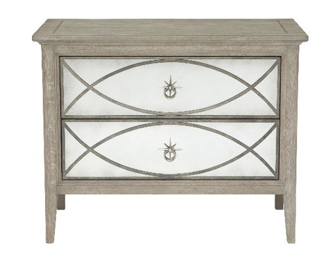 Marquesa Mirrored Nightstand - Bernhardt Furniture