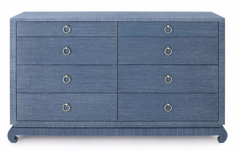 Ming Extra Large 8 Drawer, Blue - Bungalow 5