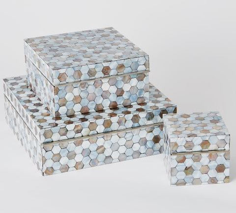 Mother of Pearl Box - Global Views