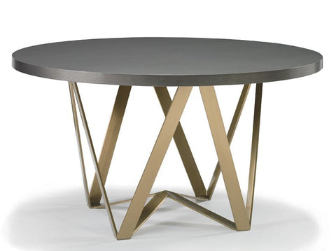 Maddox Dining Table with Wood Top - Precedent