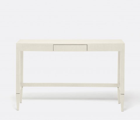 Conrad Console, Off White Raffia - Made Goods