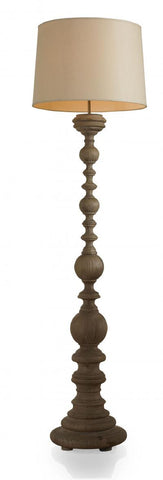Madrid Floor Lamp, Rustic Pine - Mr. Brown