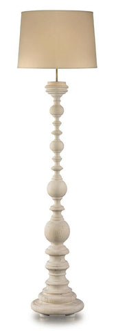 Madrid Floor Lamp, White Pine - Mr. Brown