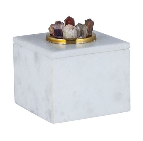 Christiana Marble Box - Dimond Home