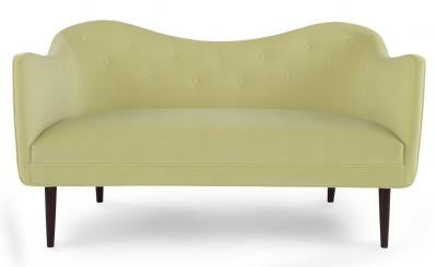 Markham Loveseat - Mr. Brown London