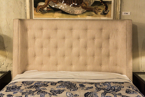 Maxime Queen Wing Bed - Bernhardt