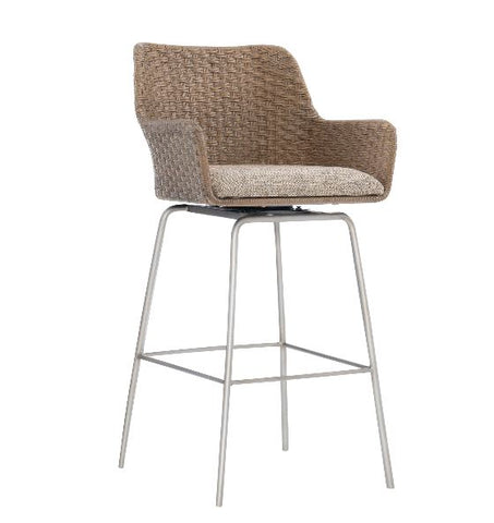 Meade Swivel Bar Stool - Bernhardt Loft
