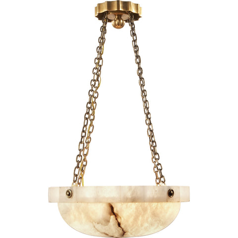 Medium Fluted Band Pendant - Visual Comfort