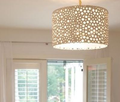 Meri Drum Chandelier - Oly Studio