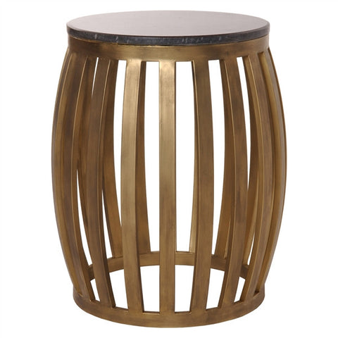 Meridian Metal Granite Stool - Emissary